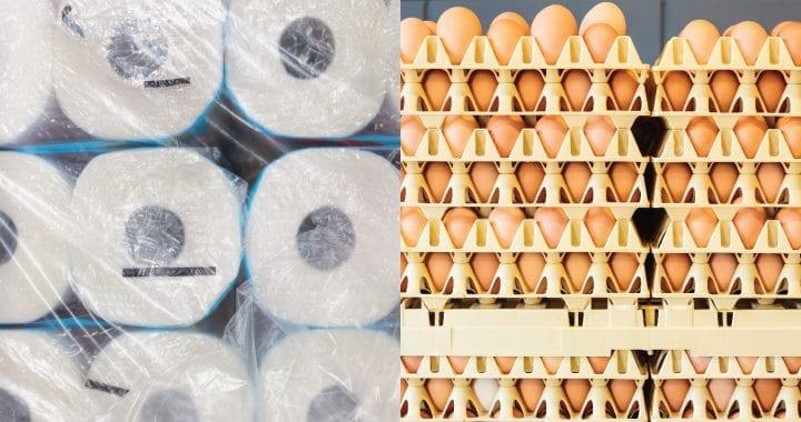 การกลับมาของระบบเศรษฐกิจการค้าแลกเปลี่ยน เหมือน ไข่แลกกับกระดาษชำระ